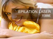 épilation au laser femme